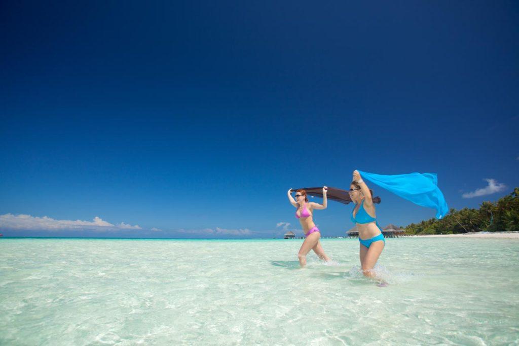 Malediven Strand Urlaub