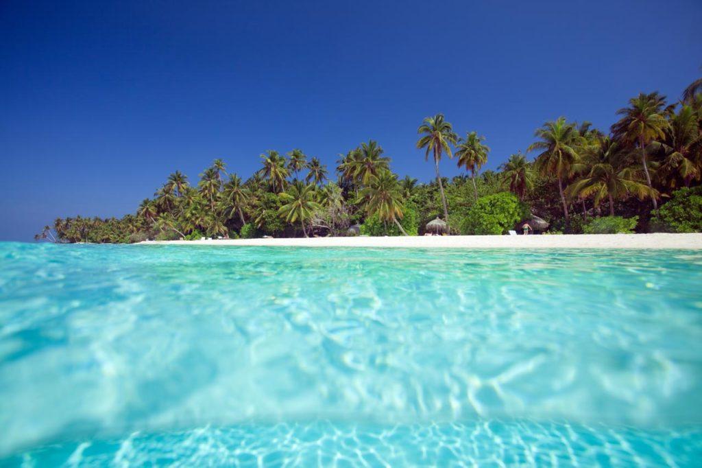 Urlaub Strand Malediven