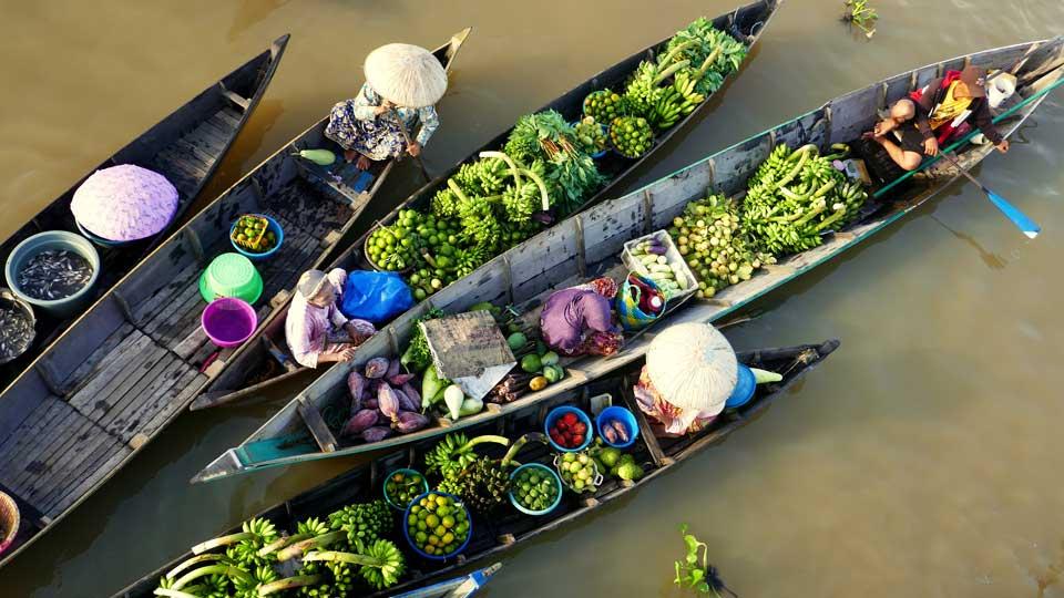 Kalimantan Indonesien Boote