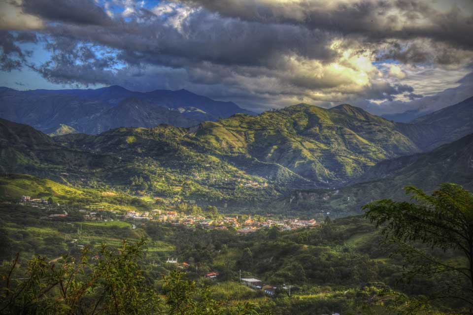 Ecuador Aussicht Tal