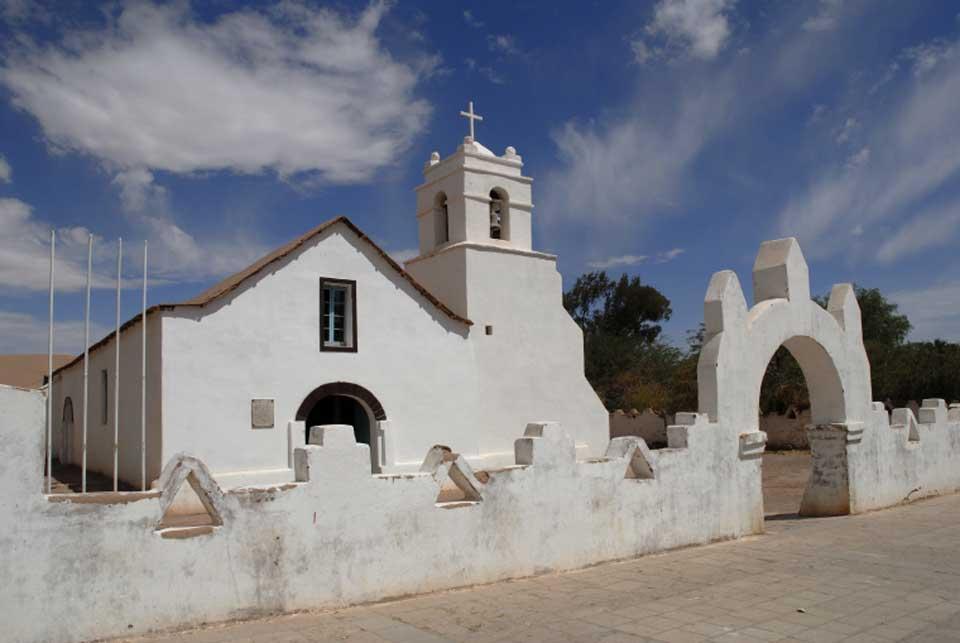 reise nach chile kirche