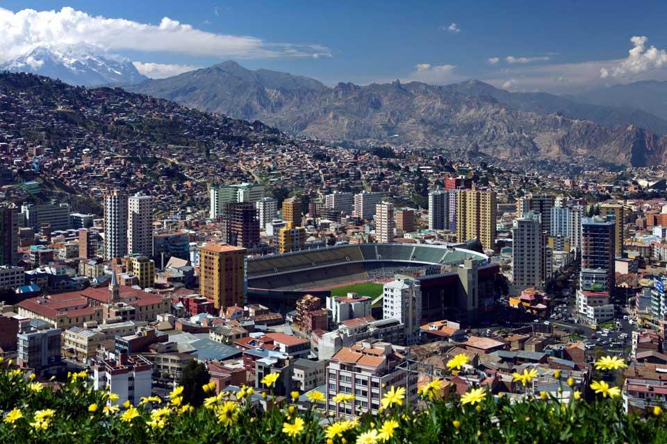 Bolivien Stadt