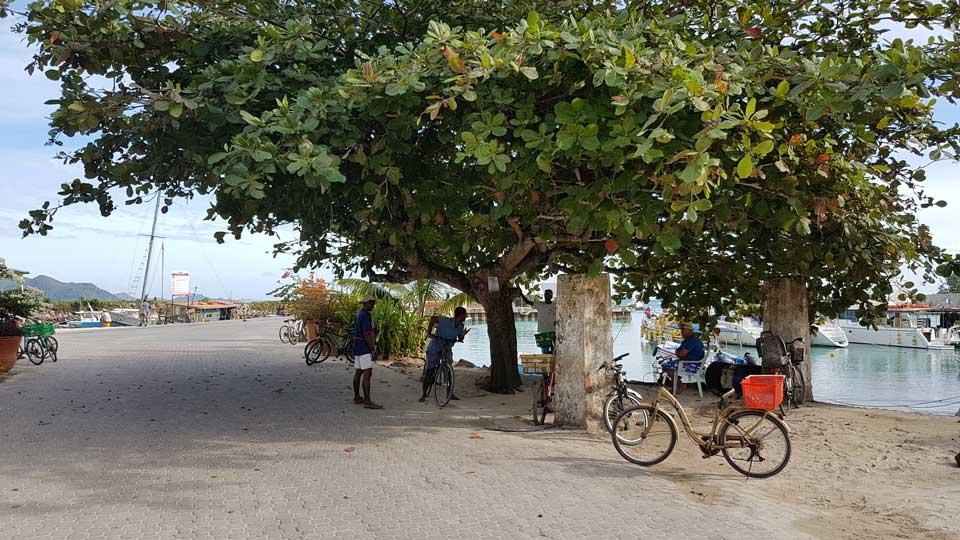 La Digue Seychellen