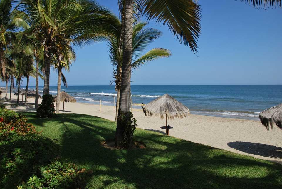 peru strand und palmen