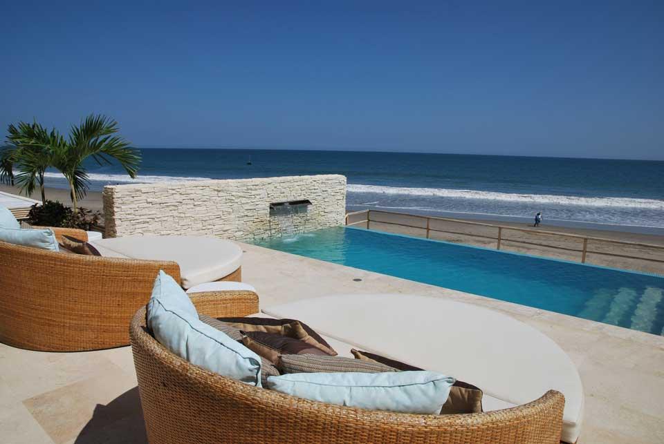 Peru strand und pool
