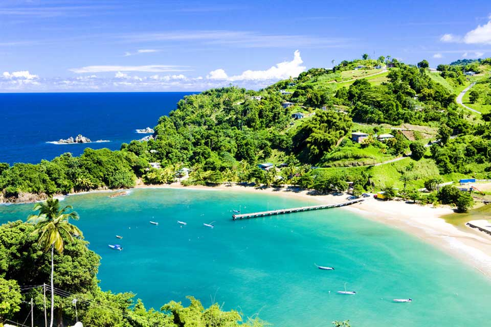 Karibik Tobago ParlatuvierBay