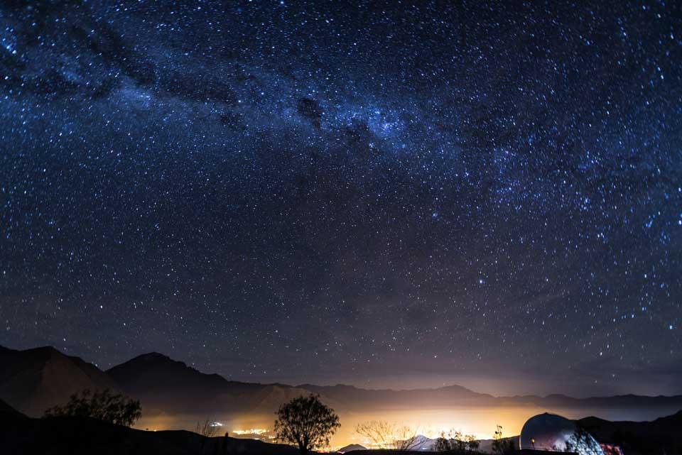 reise nach chile sternenhimmel