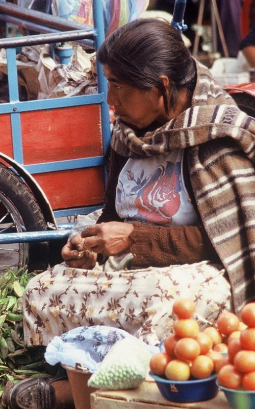 120 Markt in Riobamba