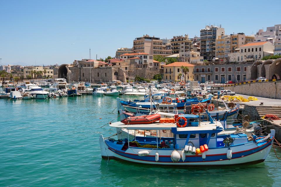 Kreta Urlaub - Hafen von Heraklion