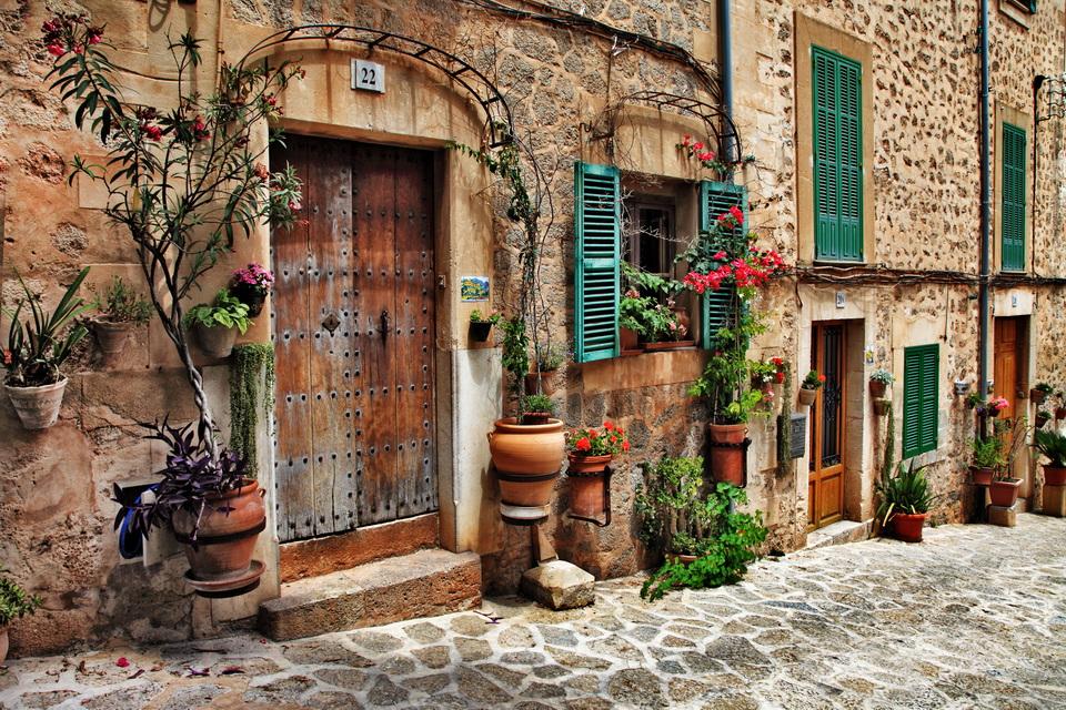Kreta Urlaub - alte Tür