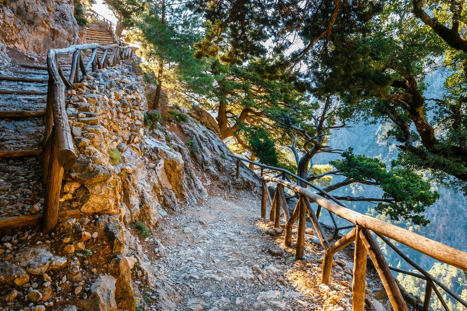 Kreta Urlaub - Samaria Schlucht